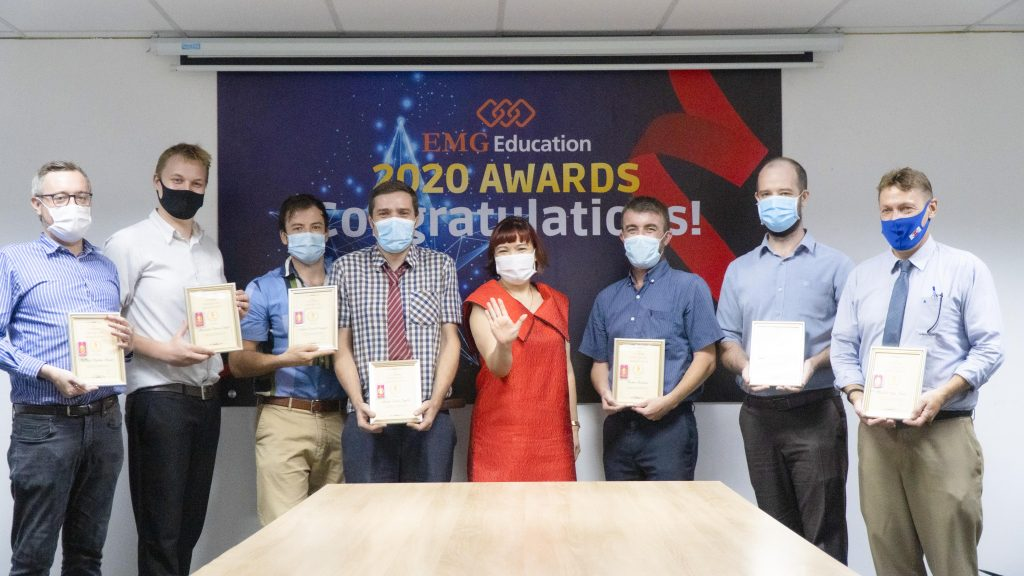 2020 EMG's Awards to 5th year members
